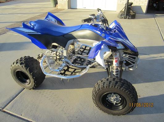 Yamaha Raptor Rolling Chassis For Sale