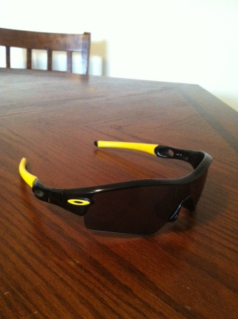oakley livestrong radar path