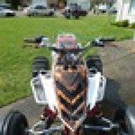 RAPTOR 700 FRONT SHOCKS Yamaha left right shock suspension STOCK OEM